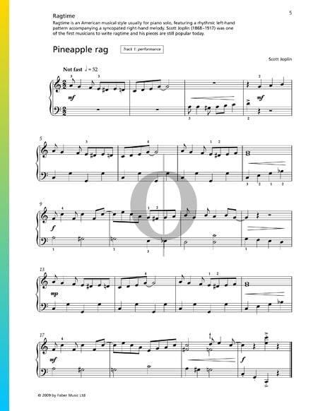 Pineapple Rag Sheet Music
