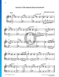 L'autunno – Der Herbst, Op. 8, RV 293: 3. Allegro