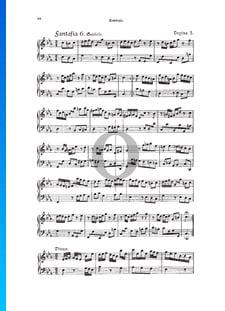 Fantasia, Douzaine III No.6: Gratioso, TWV 33:30