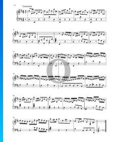 Suite en Ré Majeur, BWV 1012: 3. Courante