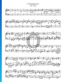 Contrapunctus 1, BWV 1080/1