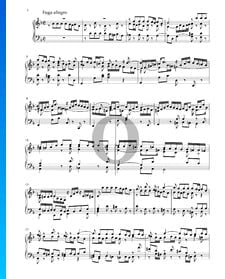 Sonate in d-Moll, BWV 1001: 2. Fuga allegro