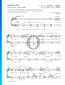 Sinfonía n.º 5 en mi menor, Op. 64: Andante cantabile