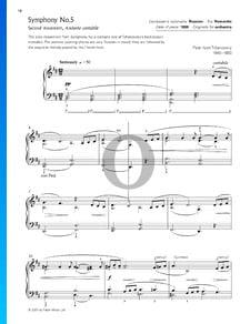 Symphonie No. 5 en Mi mineur, Op. 64: Andante cantabile