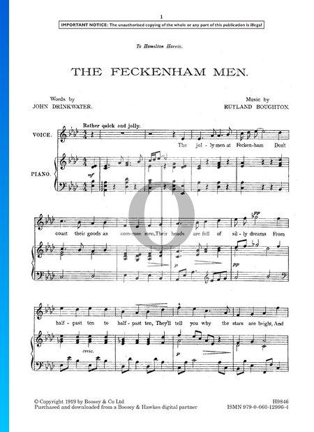 The Feckenham Men Partitura