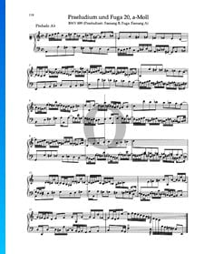 Praeludium a-Moll, BWV 889