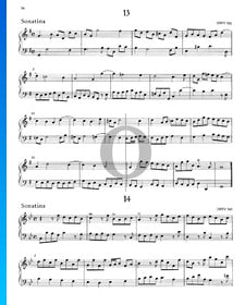 Sonatina B-flat Major, HWV 585
