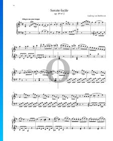 Sonata fácil, Op. 49 n.º 2: 1. Allegro ma non troppo