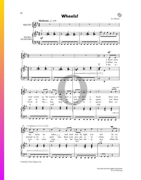 Wheels Sheet Music
