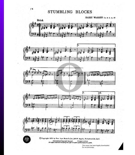 Stumbling Blocks Musik-Noten