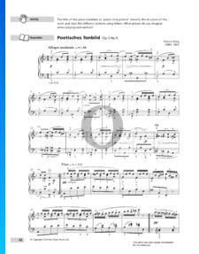 Allegro moderato (Poetische Tonbilder), Op. 3 Nr. 5