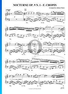 Nocturne B-flat Minor, Op. 9 No. 1
