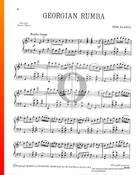 Georgian Rumba Sheet Music