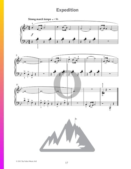 Expedition Sheet Music