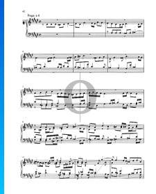 Fuga dis-Moll, BWV 877