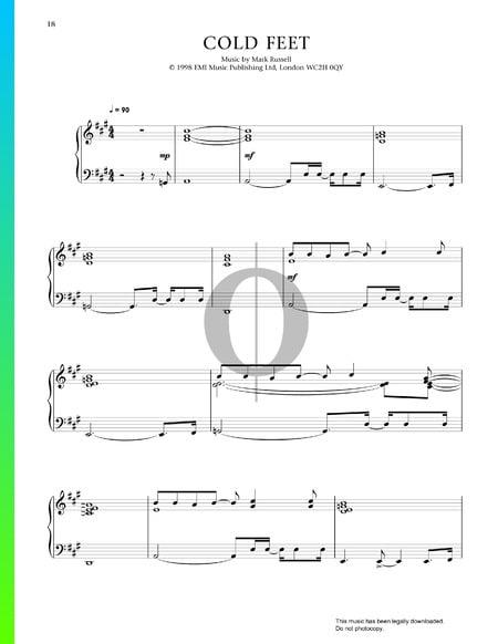 Cold Feet Musik-Noten