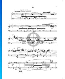 Cosas vividas y soñadas (Životem a snem), Op. 30 n.º 9