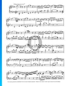 Sonata para piano n.º 13 en si bemol mayor, KV 333 (315c): 3. Allegretto grazioso