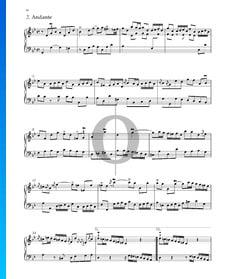 Suite No. 7 G Minor, HWV 432: 2. Andante