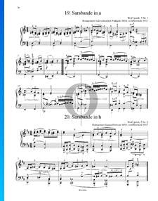 Sarabande en Si mineur, WoO posth. 5 No. 1