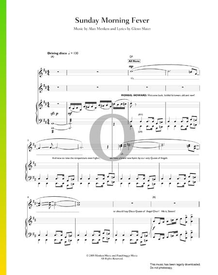Sunday Morning Fever Sheet Music