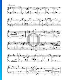 Suite n.º 3 en re menor, HWV 428: 4. Courante