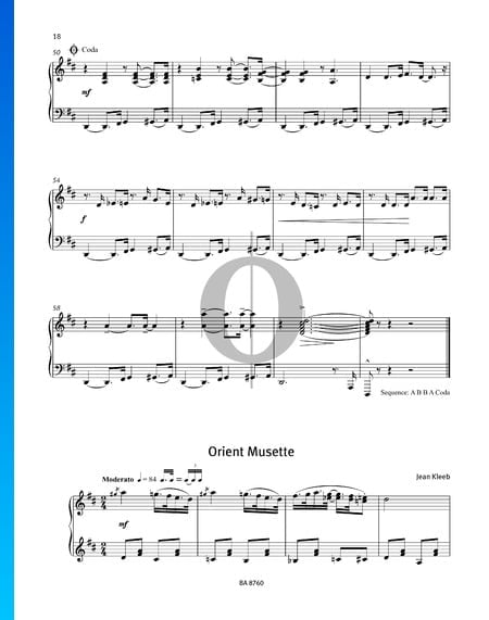 Orient Musette Sheet Music