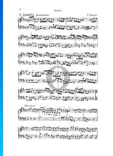 Fantasia, Douzaine II No. 3: Pompeusement, TWV 33:15