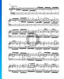 Fugue G Major, BWV 884