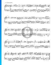 Suite inglesa n.º 6 en re menor, BWV 811: 3. Courante
