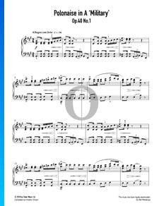 Polonaise en La Majeur, Op. 40 No. 1 (Military)