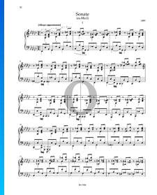 Sonate es-Moll: 1. Allegro appassionato