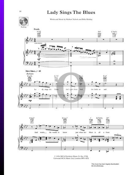 Lady Sings The Blues Musik-Noten