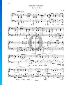 Sonata-Fantasía n.º 2 en sol sostenido menor, Op. 19: 1. Andante