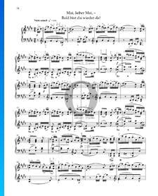Mayo, querido mayo, Op. 68 n.º 13