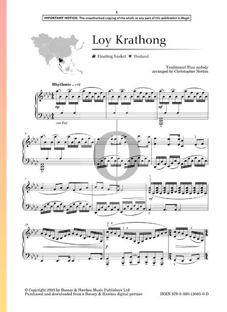 Loy Krathong Sheet Music