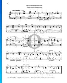Fröhlicher Landmann, Op. 68 Nr. 10