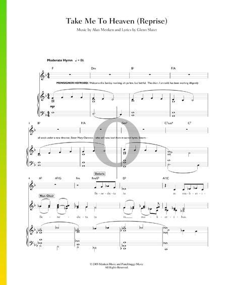 Take Me To Heaven (Reprise) Sheet Music