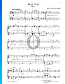 Pequeño vals, Op. 26