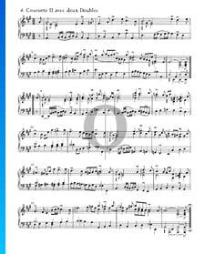 Suite inglesa n.º 1 en la mayor, BWV 806: 4. Courante II