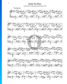 Suite en Mi bémol Majeur, BWV 1010: 1. Praeludium