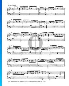 Partita 1, BWV 825: 4. Sarabande
