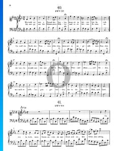 Aria en mi bemol mayor, BWV 509