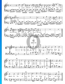 Choral: O Ewigkeit, du Donnerwort, BWV 513
