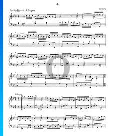 Preludio ed Allegro g-Moll, HWV 574