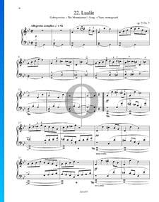 Lualat (Gebirgsweise), Op. 73 n.º 7