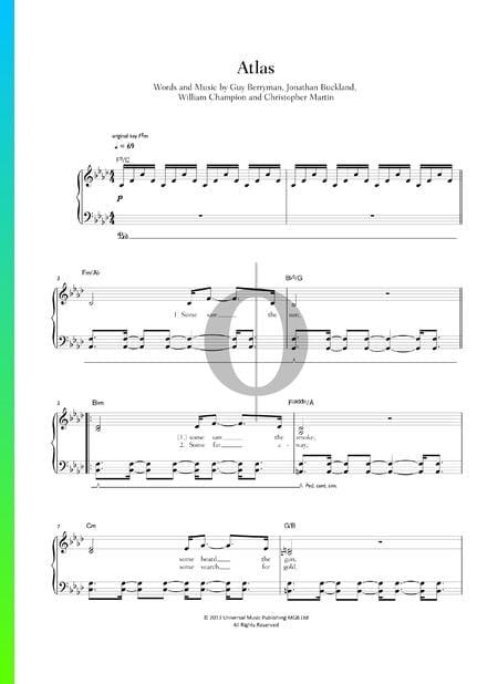 Atlas Musik-Noten