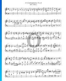 Contrapunctus 11, BWV 1080/11