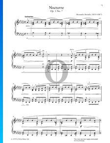 Nocturne, Op. 1 No. 7