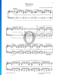 Nocturne, Op. 1 Nr. 7